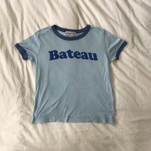 Wildfox Blue Bateau T-shirt
